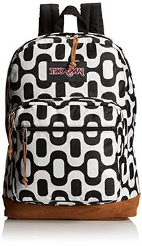 JanSport Right Pack World Backpack - Navy Tokyo Nights / 18""
