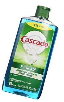 Cascade Rinse Aid, Dishwasher Rinse Agent, Original Scent,