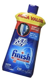Finish Jet Dry Rinse Aid, 23 Fl Oz - 2 Pack