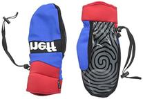 neff Men's Ripper Mitt, Red/Blue, Medium