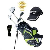 Paragon Rising Star Junior Kids Golf Club Set  Green LEFT