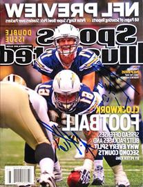 Philip Rivers & Nick Hardwich CHARGERS 9/6/10 autographed