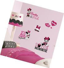 Roommates Rmk2180Scs  Mickey And Friends - Minnie Loves Pink