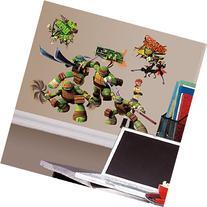 Roommates Rmk2246Scs  Teenage Mutant Ninja Turtles Peel And