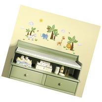 RoomMates RMK2635SCS Jungle Friends Peel and Stick Wall