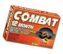 Combat 12 Month Roach Bait - 18/Pack, 6/Case