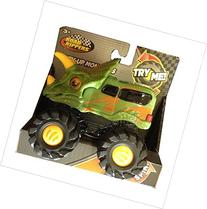 Road Rippers Rev-up Monsters Green Tricera Dino Monster
