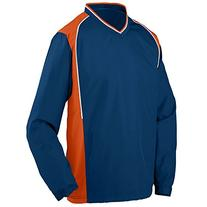Augusta Sportswear Men's Roar Pullover 3XL Navy/Orange/White