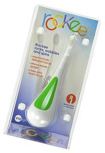 Violife Rockee Toothbrush, Green, 0.38 Pound