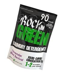 Rockin' Green Natural HE Powder Laundry Detergent for Hard