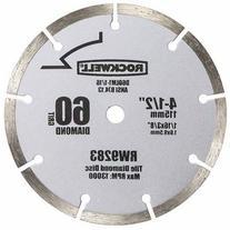 "RockwellCompact Circular Saw 4.5"" Diamond Blade"