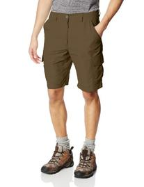 White Sierra Men's Rocky Ridge II Shorts , Bark, Medium