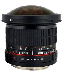 Rokinon HD8M-C 8mm f/3.5 HD Fisheye Lens with Removeable