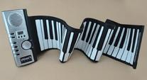 Iwoo 61 Keys Roll up Electronic Piano Keyboard Flexible Roll