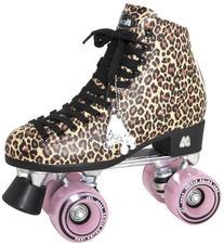 Moxi Roller Skates Ivy Roller Skates,Brown Leopard,7