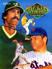 Rollie Fingers Autographed 1992 Legends Sports Magazine