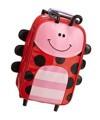 Stephen Joseph Rolling Backpack, Ladybug