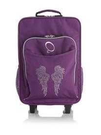 Obersee Kids Rolling Luggage with Integrated Snack Cooler,