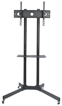 Halter Rolling TV Trolley Cart and Stand Mount for 30 - 65