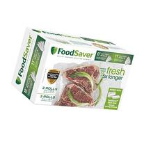 "FoodSaver 8"" & 11"" Rolls with unique multi layer"