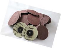 "25pc IIT 3"" Roloc Discs 24 Grit R Type Sanding Abrasive Roll"