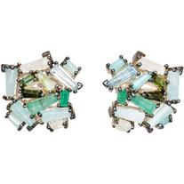 Nak Armstrong Women's Rose Cluster Stud Earrings