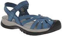 KEEN Women's Rose Sandal, Indian Teal/Neutral Gray, 9 M US