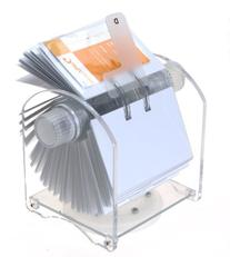 Genie Rotator Rotary File for 400 Business Cards with 24-