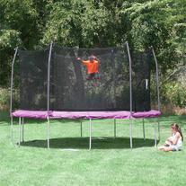 Skywalker Trampolines 12' Round Trampoline and Enclosure,