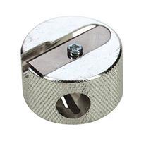 Beautique Round Metal Pencil Sharpener