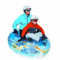 Aqua Leisure Round Penguin Transparent Snow Tube, 54