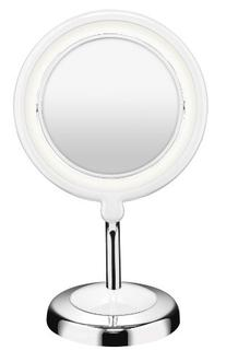 Conair Round Shaped LED Double-Sided Lighted Makeup Mirror;