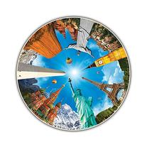 Round Table Puzzle - Legendary Landmarks