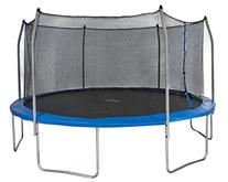 Merax Round Trampoline and Safety Enclosure Set with Spring