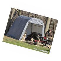 ShelterLogic RoundTop 10 x 12 x 8 ft. Round Frame Shed