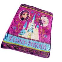 Frozen Royal Plush Raschel Throw 50X60 inches-- Family