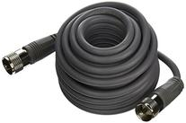 RoadPro RP-8X18 Gray 18' CB Antenna Coax Cable with PL-259