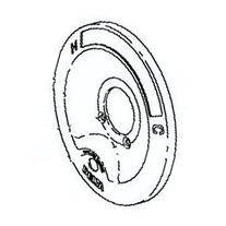 Delta RP6046 Chrome Escutcheon - 600 Series