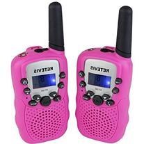Retevis RT-388 Portable Kids Walkie Talkie 22 Channel FRS/