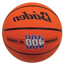 Baden Official Rubber Basketball, Orange, 29.5-Inch