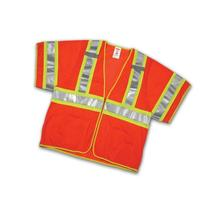 Tingley Rubber V70339 Class 3 Mesh Safety Vest, Large/X-