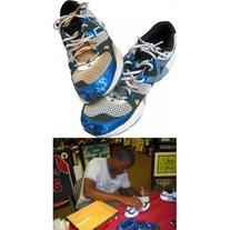 Rubby De La Rosa Autographed Game Used Turf Shoes