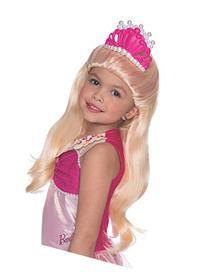 Rubies Barbie and The Pearl Princess Lumina Wig with Tiara,