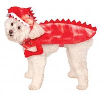 Rubies Costume Company Raptor Dinosaur Pet Costume, Small