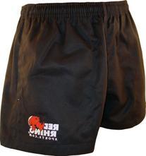 Red Rhino Rugby Shorts - Black - M - 34