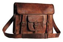 HandMadeCart Rugged Grunge Mens Messenger Laptop Briefcase