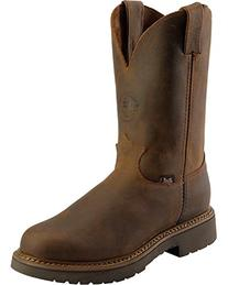 Justin Men's Rugged Bay Gaucho J-Max Pull-On Work Boot Round