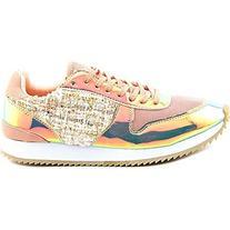 Madden Girl Women's Runner Fashion Sneaker, Blush Multi, 10