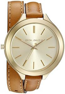 Michael Kors Women's Runway Brown Watch MK2256