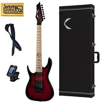 Dean Rusty Cooley 7 String Exotic Red Electric Guitar FREE